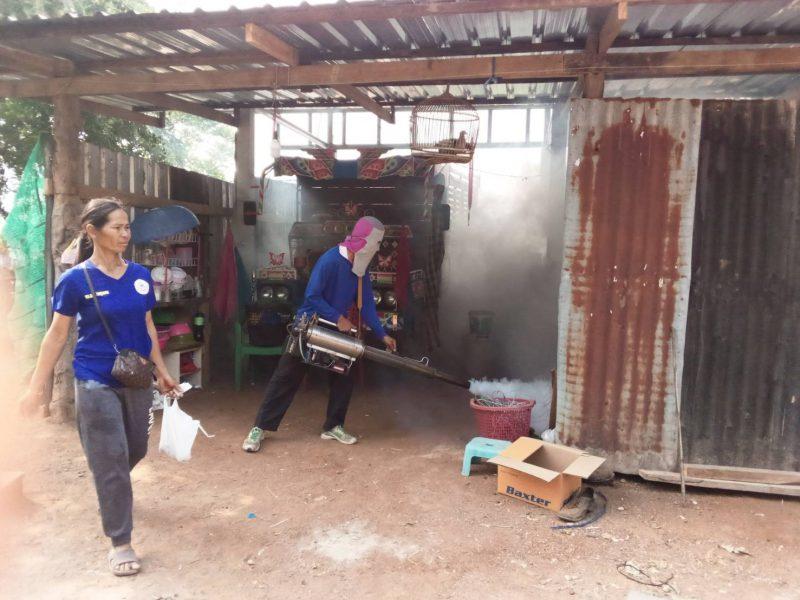 กิจกรรม 10 : การป้องกันโรคไข้เลือดออกในชุมชน